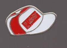 pin's Coca cola - casquette jeux olympiques d'Albertville 1992