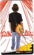GAME STOP EB EDGE GUITAR Limited Ed COLLECTIBLE Gift Card New No Value