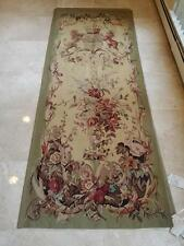"""The Royal Heir"" Handwoven FRENCH AUBUSSON WEAVE TAPESTRY 3' wide x 8' tall"