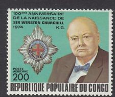 CHURCHILL :  CONGO(Brazzaville) 1974Churchill Commemoration  SG 415 unm.mint
