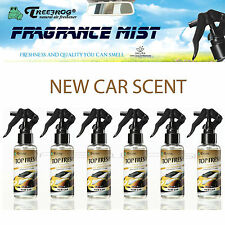 6 PACK TREEFROG TOP FRESH NEW CAR SCENT FRAGRANCE MIST SPRAY AIR FRESHENER