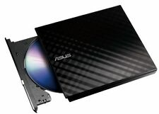 Asus SDRW-08D2S-U LITE USB Portable External DVD Writer for Laptop + Desktop