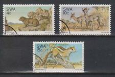 SWA SOUTH WEST AFRICA 1976 Fauna Nature Conservation Wild Animals SG 290/2 USED