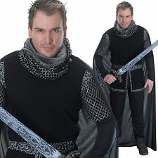 ADULT SHERIFF OF NOTTINGHAM ROBIN HOOD MEDIEVAL KNIGHT FANCY DRESS COSTUME