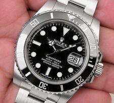 Rolex SUBMARINER Date 116610LN Mens Stainless Steel Black Ceramic Bezel 40MM