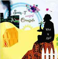 """Rare Limited Edition 7"""" Single  SOOM-T Versus KING CREOSOTE  What Is Life?  MINT"""