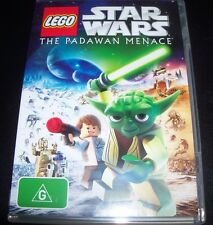 Star Wars Lego - The Padawan Menace (Australia Region 4) DVD - Like New