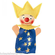"""Kersa 40693 Finger puppet """"The young King"""" for Puppet Theater Wooden Head new! #"""