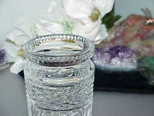 Waterford Crystal Covered Jam Jelly Jar Honey Pot Lid Spoon Signed Castlemaine 2