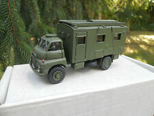 VEHICULE MILITAIRE SMITH AUTO MODELS REF OM 16 BEDFORD QL RADIO BRITISH ARMY