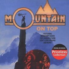 Mountain - On Top (CD 1992) BARGAIN!! CLASSIC!! 10 TRAX!! FREE!! UK 24-HR POST!!
