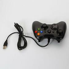Wired Xbox 360 USB Remote Controller for PC Windows Computer Black US