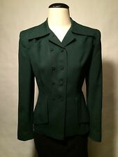 1940's-early 50's True vintage jacket-Great design-Hollywood movie look!