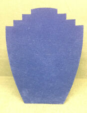 Set of 10 Jewellery Display Card Busts [B] Summer Blue S'dette