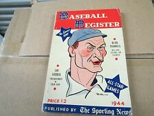 1944  SPORTING NEWS BASEBALL REGISTER-RUBE WADDELL COVER - LOU GEHRIG LIFE STORY
