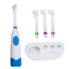 Children Electric Toothbrush Waterproof Revolving Toothbrush 3 Toothbrush Heads