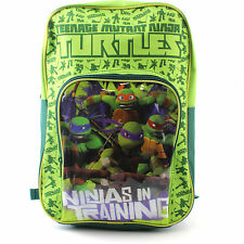 Boys Backpack Teenage Mutant Ninja Turtles TMNT Rucksack Kids School Holiday Bag