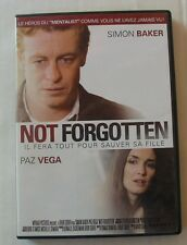 DVD NOT FORGOTTEN - Simon BAKER / Paz VEGA