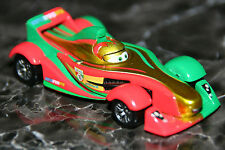 "DISNEY PIXAR CARS 2 ""CLUTCHGONESKI W/ METALLIC FINISH"" KMART GOLD RACER"