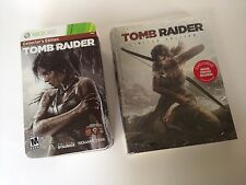 Tomb Raider -Collector's Edition (Microsoft Xbox 360, 2013) & Collectors Guide