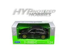 WELLY 1:24 2005 SUBARU IMPREZA WRX STI DIE-CAST BLACK 22487NS-W-BK