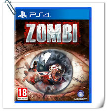 PS4 Zombi SONY PlayStation Games Action Ubisoft