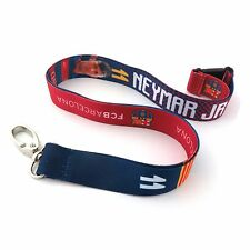 NEYMAR JR #11 FC BARCELONA OFFICIALLY LICENSED LANYARD KEY CHAIN