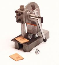 Leather 1/2 TON- 1000 Lb. stamp press and steel plate tool for Tandy 3-D craft