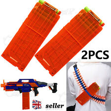 UK Quick Reload Clip System Darts for Toy Gun Nerf N-Strike Blaster in Loose