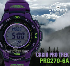 Casio Protrek Triple Sensor V3 Tough Solar Watch PRG270-6A
