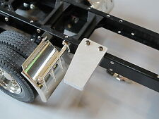 Tamiya RC 1/14 Semi Truck Custom Aluminum Frame Rail side step cover Plate