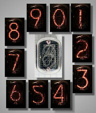 USSR Nixie Neon indicator of digits IN12A IN-12A ИН-12А 1pc. or more