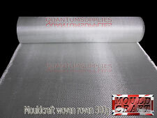 300g Fibreglass Woven Roving Mat 300gm 10m x 1m uses RESIN GRP MOULDS