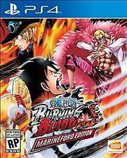 One Piece: Burning Blood -- Marineford Edition (Sony PlayStation 4, 2016) NEW