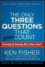 The Only Three Questions That Still Count: Investing By Knowing What O-ExLibrary