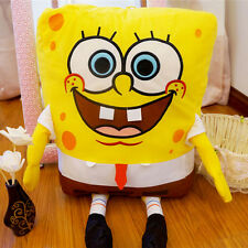 "Hot Sale Spongebob Sponge Bob 14"" Soft Pillow Cushion Plush Toy Doll Xmas Gift"