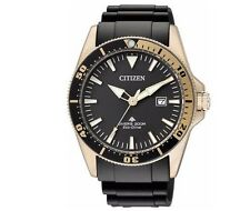 Citizen Mens Eco Drive Professional Divers Watch 200m Luminous BN0104-09E