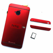 OEM HTC One M7 801s 801n 801E Battery Housing Replacement Back Case Door Cover