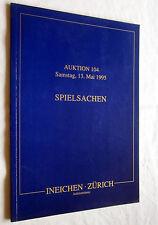 Auktions-Katalog SPIELSACHEN Mai 1995 (bebildert)