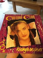 Culture Club - Kissing To Be Clever RARE VINYL LP 1984 NM/GD