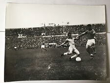 photo press football  World Cup 1958  France-Brazil , demi-finale        273
