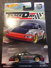 2017 Hot Wheels Car Culture Track Day Porsche 964 Real Riders Metal Base