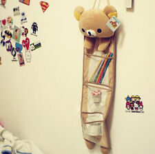 Rilakkuma San-X Bear Hanging Door Wall Pouch Cartoon Home Organizer Storage Bags