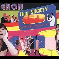 High Society by Enon (CD, Jun-2002, Touch & Go (Label))
