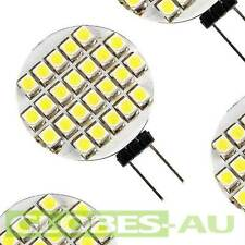 12V G4 LED COOL WHITE GLOBE 24 SMD Lamp Bulb Tent Camping Car Garden Light Jayco