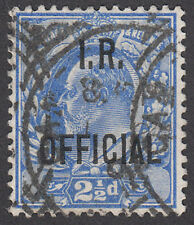 SGO22 2 1/2d. Ultramarine. Fine used example with deep colour. E1174
