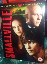 Smallville: The Complete Third Season [6 Discs] [2010 DVD Boxset) Very Good Cond