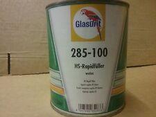 Glasurit 285-100   2K HS Rapid Filler Primer  White     1 litre  BASF  Hi-Build
