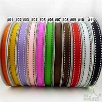 "3 metres Stitch Grosgrain RIBBON 13mm 1/2"" mixed Colors(11 color options U pick)"