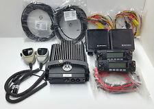 MOTOROLA XTL2500 XTL VHF 136-174 MHZ 800 CH 110 WATTS  DIGITAL DUAL HEADS RADIO